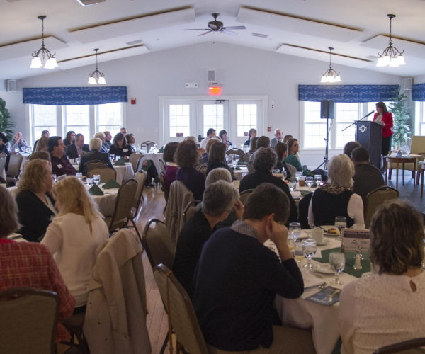 The Greater Dover Chamber of Commerce hosts a panel discussion on Winning Workplaces, family friendly work environments held at the Cocheco Country Club in Dover. Photo by John Huff/Fosters.com