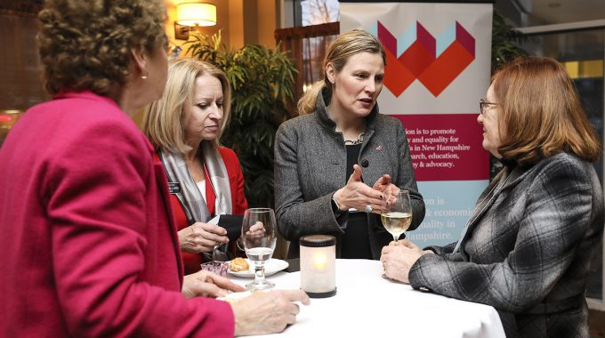 Marilla Ricker Reception For Female Legislators