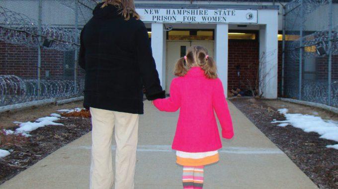 Entering Prison W Child