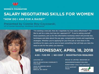 Salary Negotiating Skills For Women
