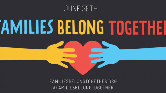 Families Belong Together With Date Twitter