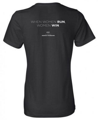 Women Run Tee Back