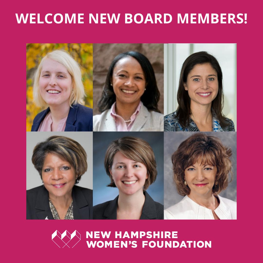 Announcing Six New Board Members!