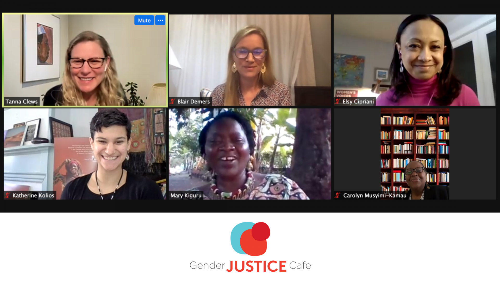 The Inaugural Gender Justice Café Kicks Off On International Women's Day