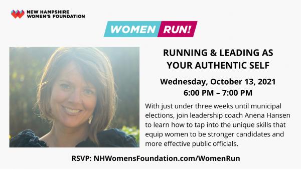 Event promo for Women Run